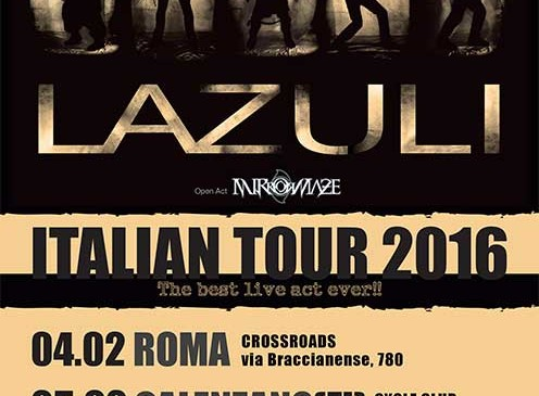 LAZULI ITALIAN TOUR 2016