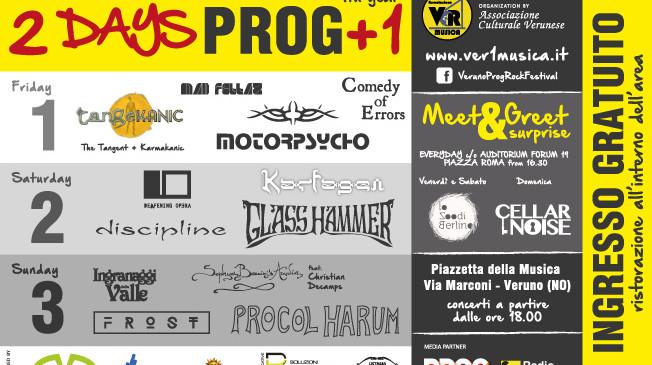 2DAYS PROG +1 2017
