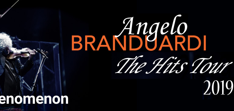 "ANGELO BRANDUARDI – ""THE HITS Tour"""